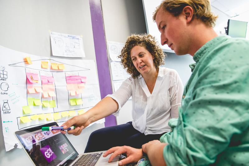 Van idee naar impact - Expert begeleiding voor jouw business