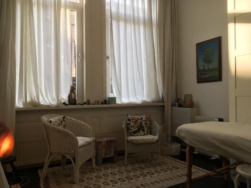 Mijn praktijkruimte in de Willebrordusstraat 7B
