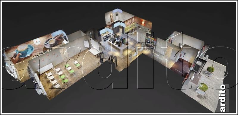 3D Proefscan van uw expositie, showroom of winkel