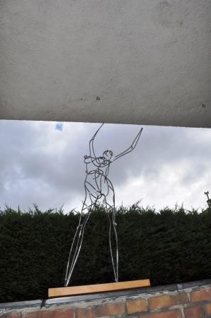 werk van Aad van der Kooij (www.chon.nl) bij Djoj, openingsexpositie georganiseerd door MF