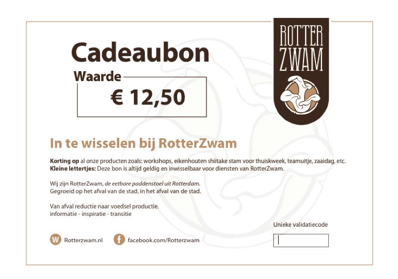 Cadeaubon RotterZwam